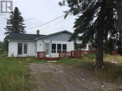 Single Family for sale in 40 Knott AVE, Matachewan, Ontario, P0K1M0
