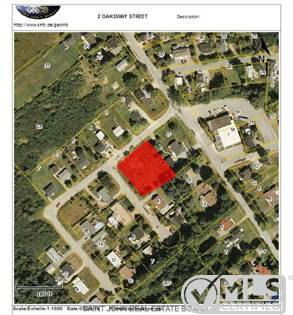 Lots And Land for sale in LOT # 2 Oaksway Street, St. Stephen, New Brunswick