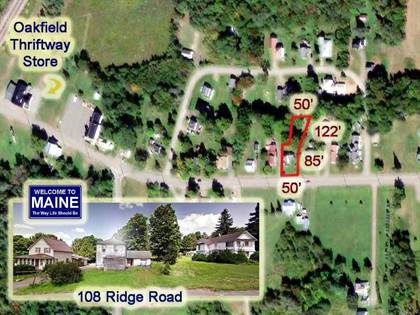 Residential Property for rent in 108 Ridge Road, Oakfield, ME, 04763