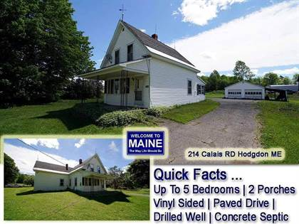Residential Property for sale in 214 Calais Road, Houlton, ME, 04730