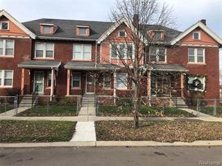 Townhouse for rent in 319 CHANDLER Street, Detroit, MI, 48202