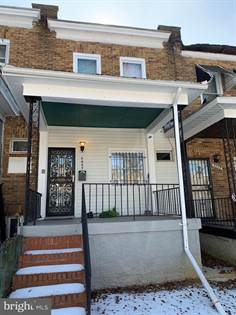 Residential Property for sale in 3027 W LANVALE ST, Baltimore City, MD, 21216
