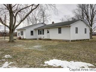 Single Family for sale in 1487 Athensville Rd, Roodhouse, IL, 62082