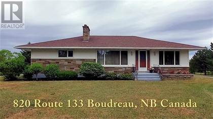 Single Family for sale in 820 Route 133, Boudreau West, New Brunswick