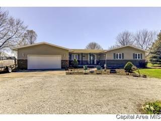 Single Family for sale in 9130 MECHANICSBURG RD, Dawson, IL, 62520