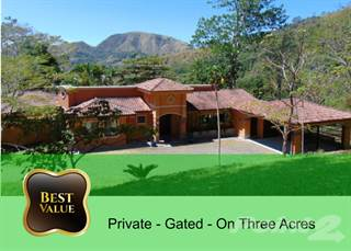 Residential Property for sale in Large Mountain home on 3.5 acres gated, Puriscal, San José