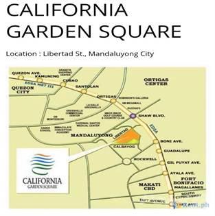 California Garden Square Highway Hills Mandaluyong City - Mandaluyong map