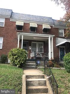 Residential for sale in 832 MOUNT HOLLY STREET, Baltimore City, MD, 21229