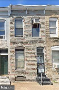 Residential Property for sale in 2652 MILES AVENUE, Baltimore City, MD, 21211