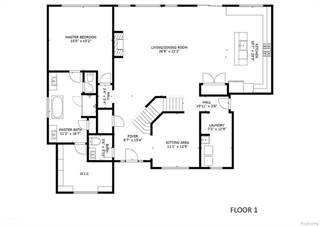 Single Family for sale in 663 Mechigian Lane, Milford, MI, 48381