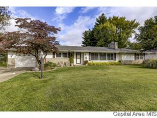 Single Family for sale in 1025 GREEN ACRES LN, Greater Sherman, IL, 62707