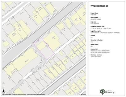 Multi-family Home for sale in 7774 EDMONDS STREET, Burnaby, British Columbia, V3N1B8