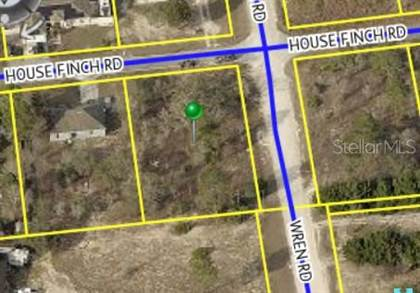 Lots And Land for sale in 13016 HOUSE FINCH ROAD, Annutteliga Hammock, FL, 34614