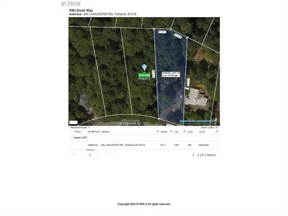 Lots And Land for sale in SW LANCASTER RD, Portland, OR, 97219