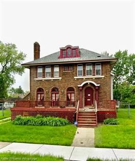 Residential Property for sale in 651 MARLBOROUGH Street, Detroit, MI, 48215