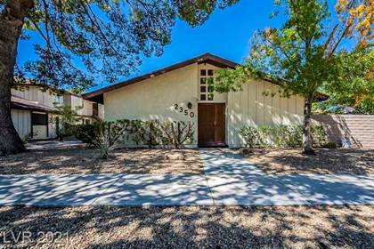 Residential Property for sale in 2350 Canfield Drive A, Las Vegas, NV, 89108