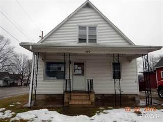 Single Family for sale in 490 HANLON Street, Canton, IL, 61520