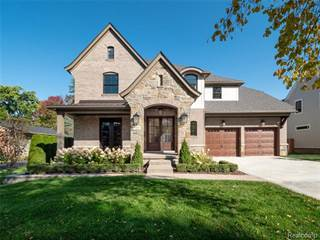 Single Family for sale in 983 WIMBLETON Drive, Birmingham, MI, 48009