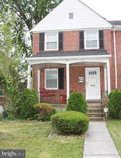 Residential for sale in 1343 STONEWOOD ROAD, Baltimore City, MD, 21239