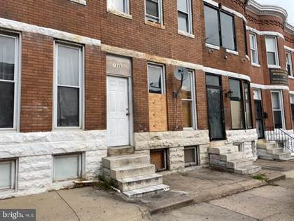 Residential for sale in 1936 W NORTH AVE, Baltimore City, MD, 21217