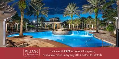 Apartment for rent in Village at Baldwin Park, Orlando, FL, 32814