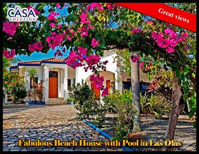 Residential Property for sale in Price Reduction! Fabulous Beach House with Pool and Guest House, Alanje, Chiriquí