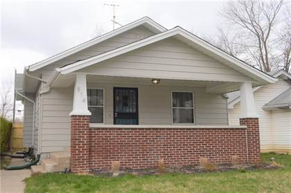 Residential Property for rent in 814 North Bosart Avenue, Indianapolis, IN, 46201