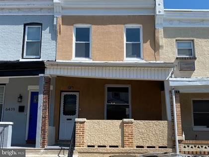 Residential Property for sale in 6417 CARLTON STREET, Philadelphia, PA, 19151
