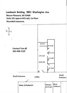 Office Space for rent in 5801 Washington Avenue, Mount Pleasant, WI, 53406