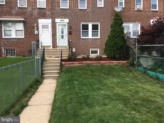 Townhouse for sale in 662 RANDOLPH STREET, Camden, NJ, 08105