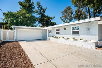 Residential for sale in 8178 Saint John Place, La Mesa, CA, 91942