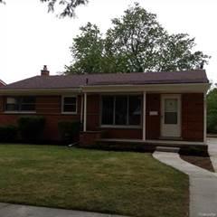 Single Family for rent in 24081 GENEVA Street, Oak Park, MI, 48237