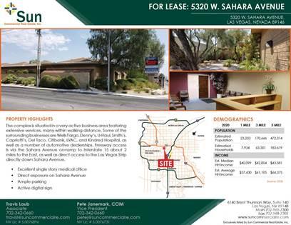 Office Space for rent in 5320 W. Sahara Avenue, Las Vegas, NV 89146, Las Vegas, NV, 89146