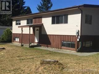 Single Family for sale in 501 CONUMA DRIVE, Gold River, British Columbia