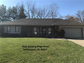 Single Family for sale in 8824 Winding Ridge Road, Indianapolis, IN, 46217