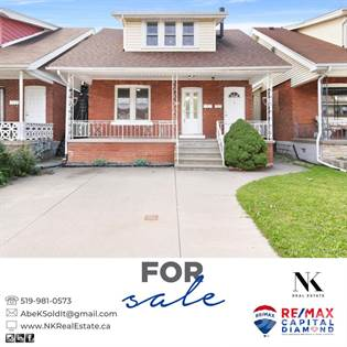 Residential Property for sale in 1087 Marentette, Windsor, Ontario, N9A 2A4