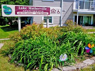 Apartment for rent in Lake Matherville Manor - 1 Bedroom, Matherville, IL, 61231