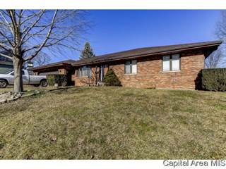 Single Family for sale in 411 W ADAMS ST, Petersburg, IL, 62675