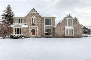 Single Family for sale in 18000 Maple Hill Court, Northville, MI, 48168