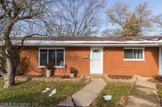 Condo for sale in 308 N ROCHESTER Road 9, Clawson, MI, 48017