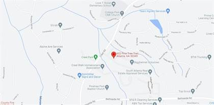 Residential Property for sale in 602 Pine Tree Trail, Atlanta, GA, 30349