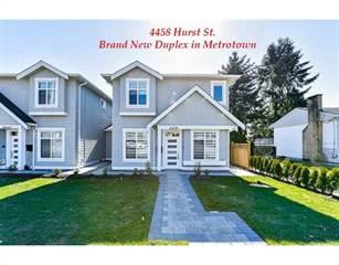 Condo for sale in 4458 HURST STREET, Burnaby, British Columbia, V5J1N2