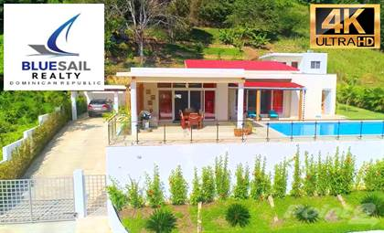 Residential Property for sale in 4K VIDEO! STUNNING HILLSIDE VILLA + GUEST HOUSE MOMENTS FROM SOSUA BEACH FOR SALE, Sosua, Sosua, Puerto Plata