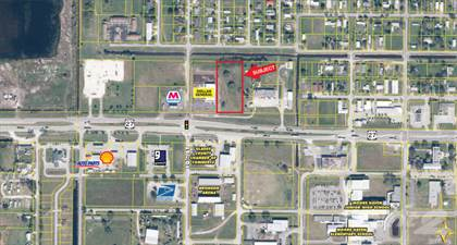 Land for sale in 943 US 27, Moore Haven, FL, 33471
