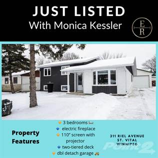 Residential Property for sale in 311 Riel Ave , Winnipeg, Manitoba