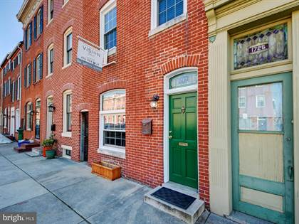 Residential Property for sale in 1727 BANK STREET, Baltimore City, MD, 21231