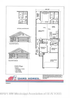 Residential Property for sale in 1756 Grayce Drive, Southaven, MS, 38671