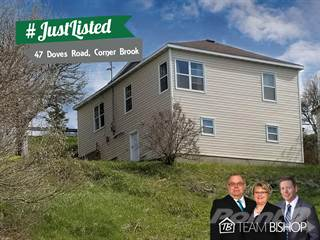 Residential Property for sale in 47 Doves Road, Corner Brook, Newfoundland and Labrador