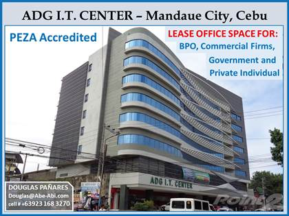 Condominium for rent in Office Space for Lease ideal for BPO, Call Center, IT Firms & Govt. Agencies in Mandaue City, Cebu, Mandaue, Cebu
