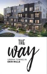 Townhouse for sale in Erin Mills Parkway and The Collegeway, Mississauga, Ontario